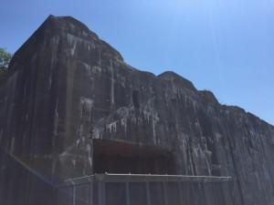Bunker außen